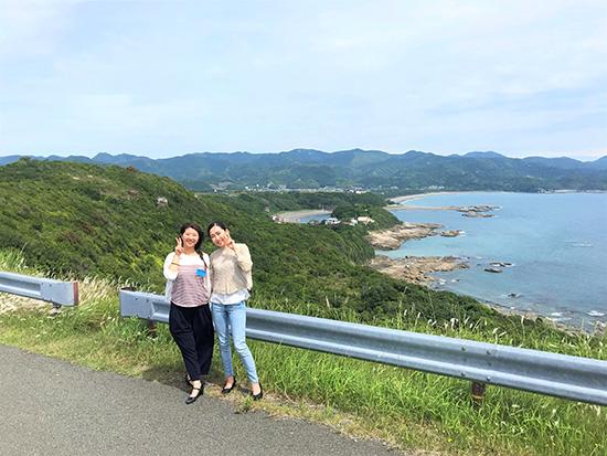 滑走路南側からの富田浜